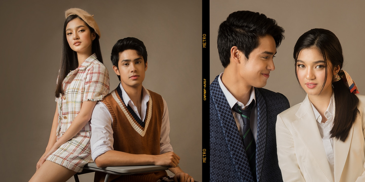 """EXCLUSIVE: Donny Pangilinan And Belle Mariano Make The Coolest Couple Today In Their Hot New Series """"He's Into Her"""""""