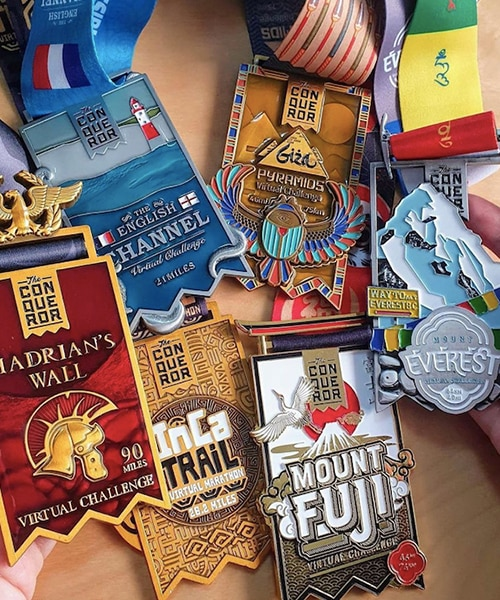 Run Towards Your Fitness Goals And Get Your Efforts Rewarded With These Medals