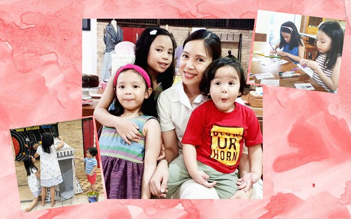 How #MetroMom Niña Corpuz Keeps Busy With Her Kids This ECQ