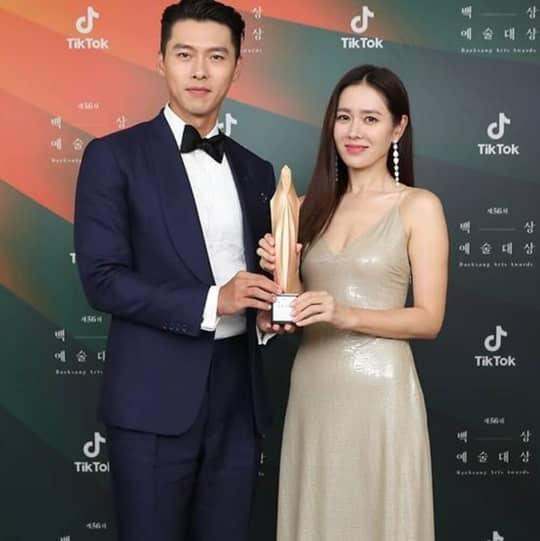 We Can't Get Over The #BinJin Couple Moments At The 56th Baeksang Arts Awards