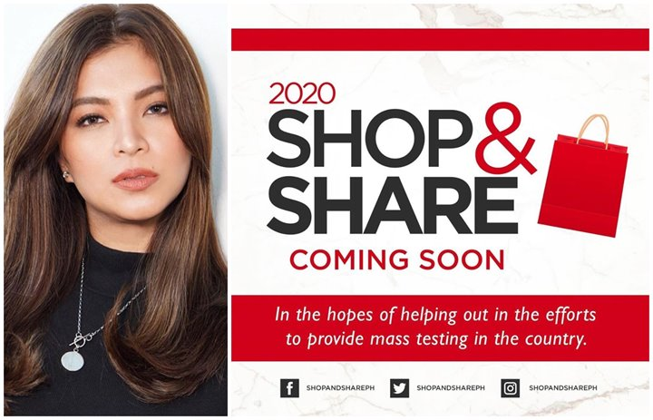 Look! Angel Locsin's Bright Idea Could Help Fund Mass Testing In The Philippines