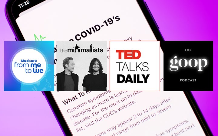 Podcasts To Help You Get Through The COVID-19 Pandemic