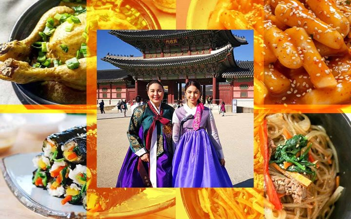 Marjorie and Julia Barretto Try Authentic Korean Street Food And Dishes