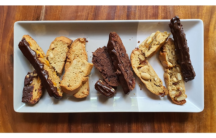 SGD Coffee's New Line of Biscotti Is Just The Indulgent Treat You Need Right Now