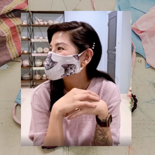 Fashion & Beauty Industry Players Encourage Everyone To #StayMasked By Creating DIY Face Masks