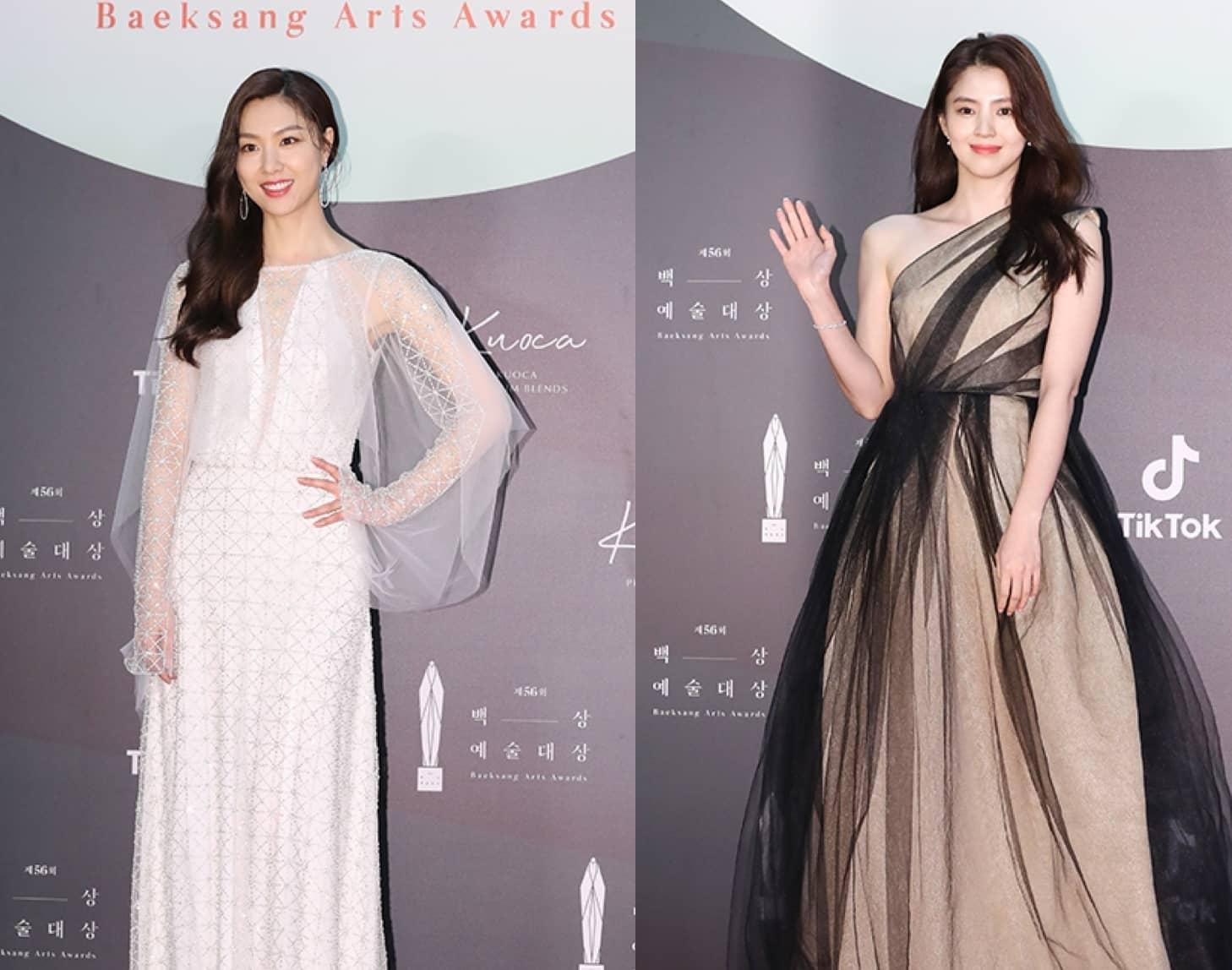 All Our Favorite Dresses At The 56Th Baeksang Arts Awards
