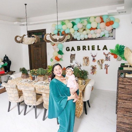 Look! Mariel Padilla Celebrates Daughter Gabriela's 6th Month With A Yummy Home-Based Feast