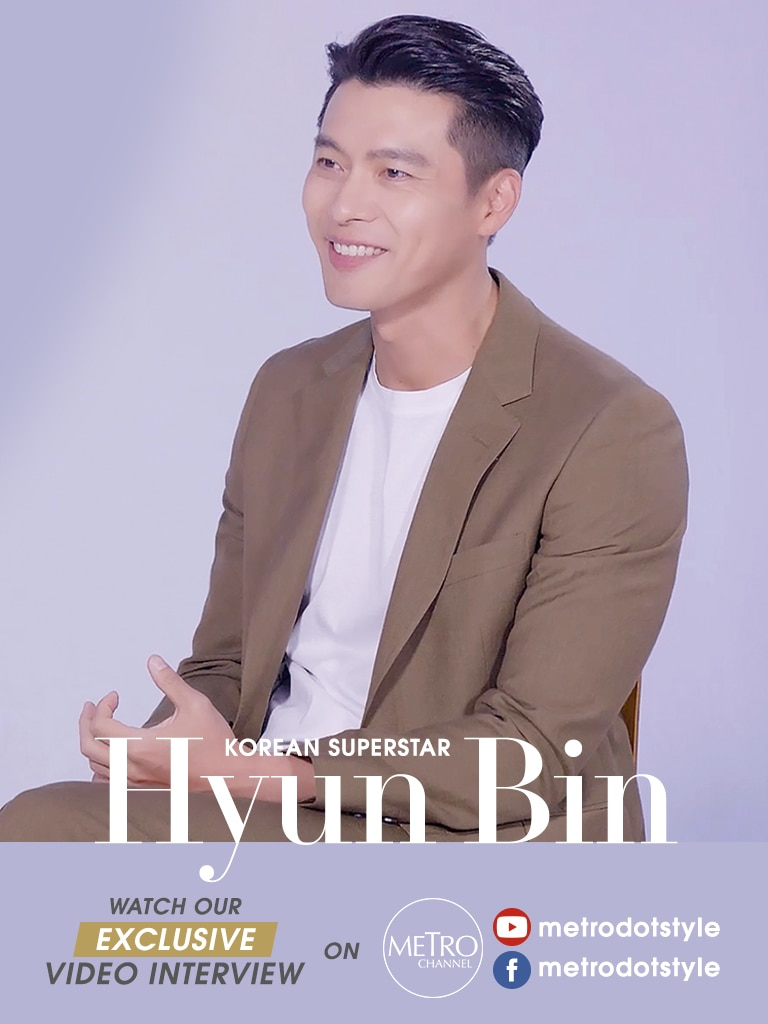 Here's Where You Can Watch Hyun Bin's Exclusive Interview With Metro.Style