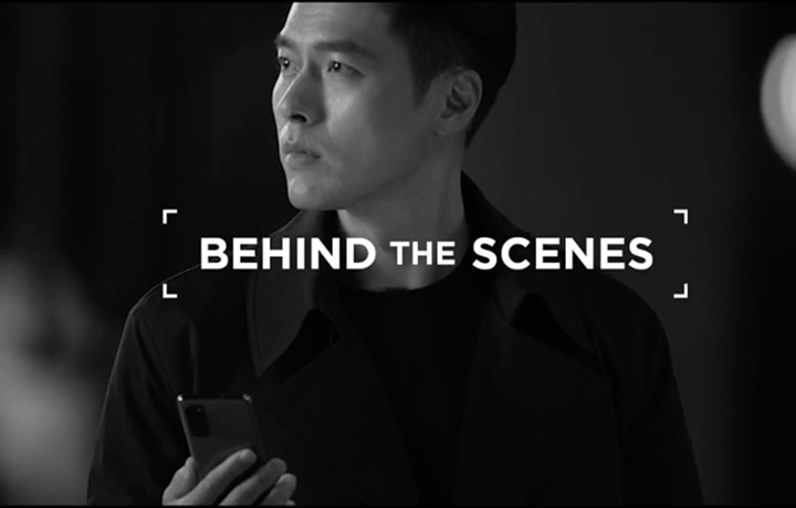 IN PHOTOS: Behind The Scenes At Hyun Bin's Smart TVC Shoot
