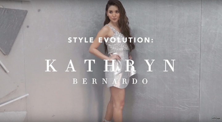 [WATCH] Style Evolution: Kathryn Bernardo From Simple to Cool Girl-Status