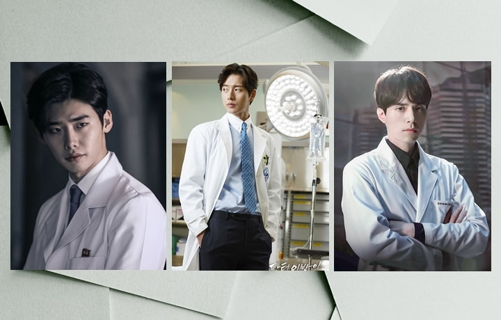 Good-Looking Korean Actors As Doctors In Medical Dramas