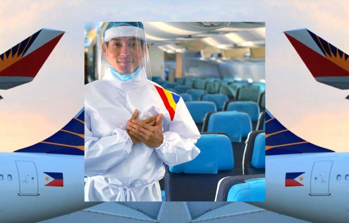EXCLUSIVE: Philippine Airlines Teams Up With Designer Edwin Tan For Its Cabin Crew's PPEs
