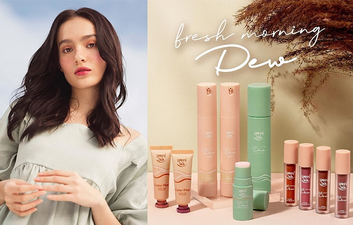 Beat The Heat With Happy Skin's Fresh Morning Dew Collection