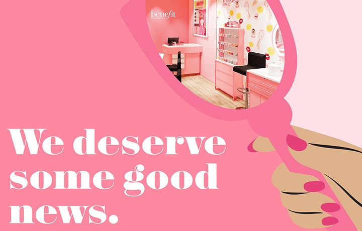 Benefit Cosmetics Re-Opens Its Pink Doors With New Safety Rules For Shoppers