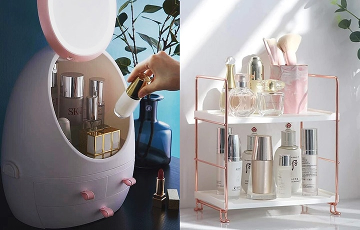 We've Got These Skincare And Makeup Organizers On Our Wish List!