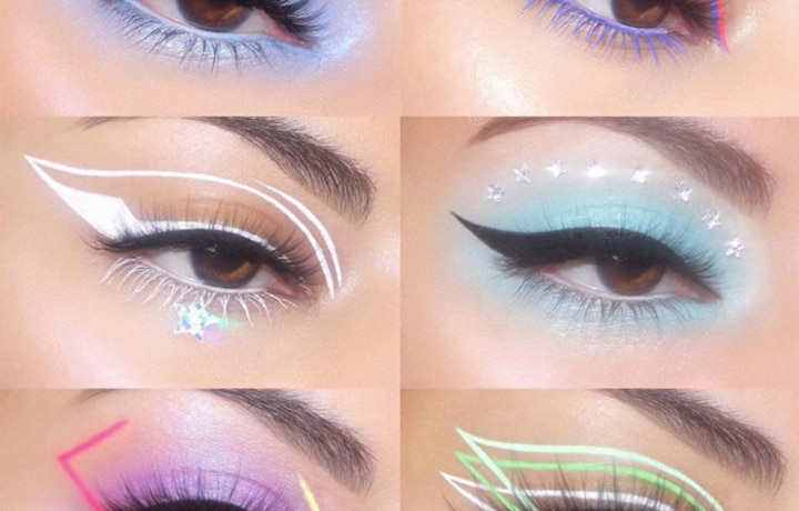All The Hypnotizing Eye Makeup Looks By Makeup Artist Harbsy
