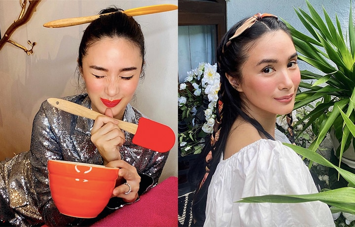 Lessons According To Heart Evangelista's Quarantine Beauty Looks