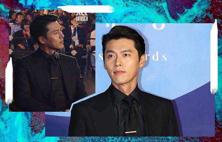 We Can't Stop Watching Hyun Bin's Close Up Shots At The 55th Baeksang Arts Awards!