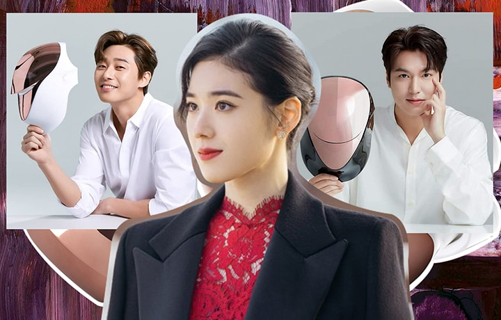 These K-Drama Stars Love This LED Homecare Beauty Device