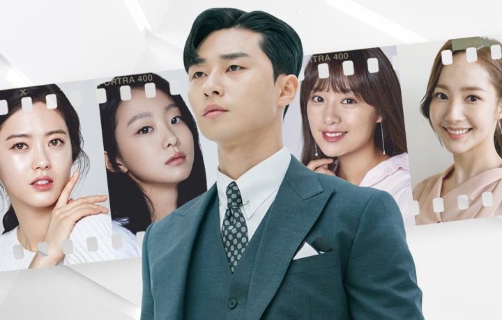 Korean Actor Of The Moment Park Seo-Joon And His K-Drama Leading Ladies