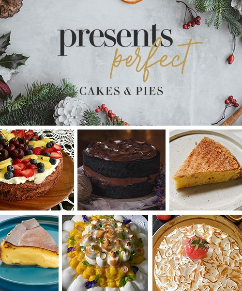 PRESENTS PERFECT: 14 Delicious, Elegant Cakes And Pies Perfect For Your Holiday Table