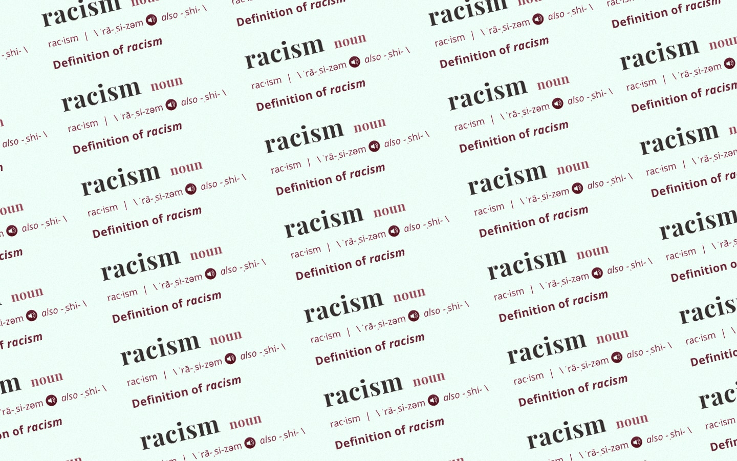 Merriam-Webster Is Updating Their Dictionary Definition of The Word 'Racism'