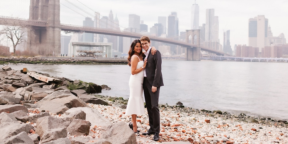 #RealWeddings: This Couple Got Married Before Things Got Crazy In New York City!