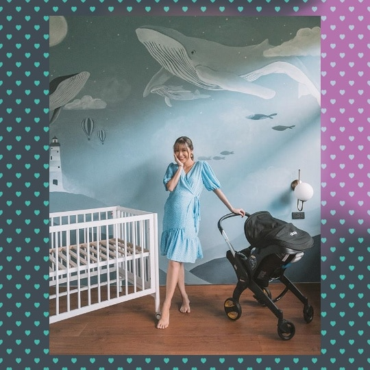 Kryz Uy And Slater Young Will Welcome Their Baby With A Whimsical Seascape Wonderland-Themed Nursery