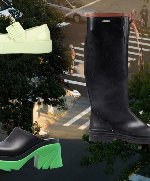 GET THE LOOK: Three Must-Have Rain Shoes And How To Style Them For Any Budget