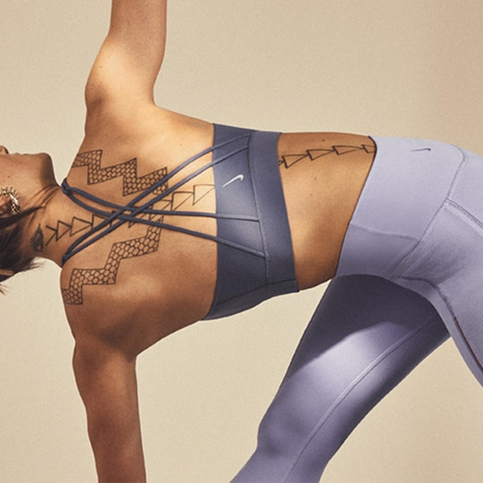 Celebrate International Yoga Day With The Nike Infinalon Collection