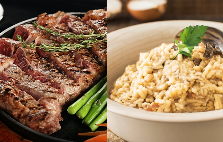 Chef Sunshine Puey Puts Together A Simple Yet Celebratory Easter Meal Of Steak And Risotto