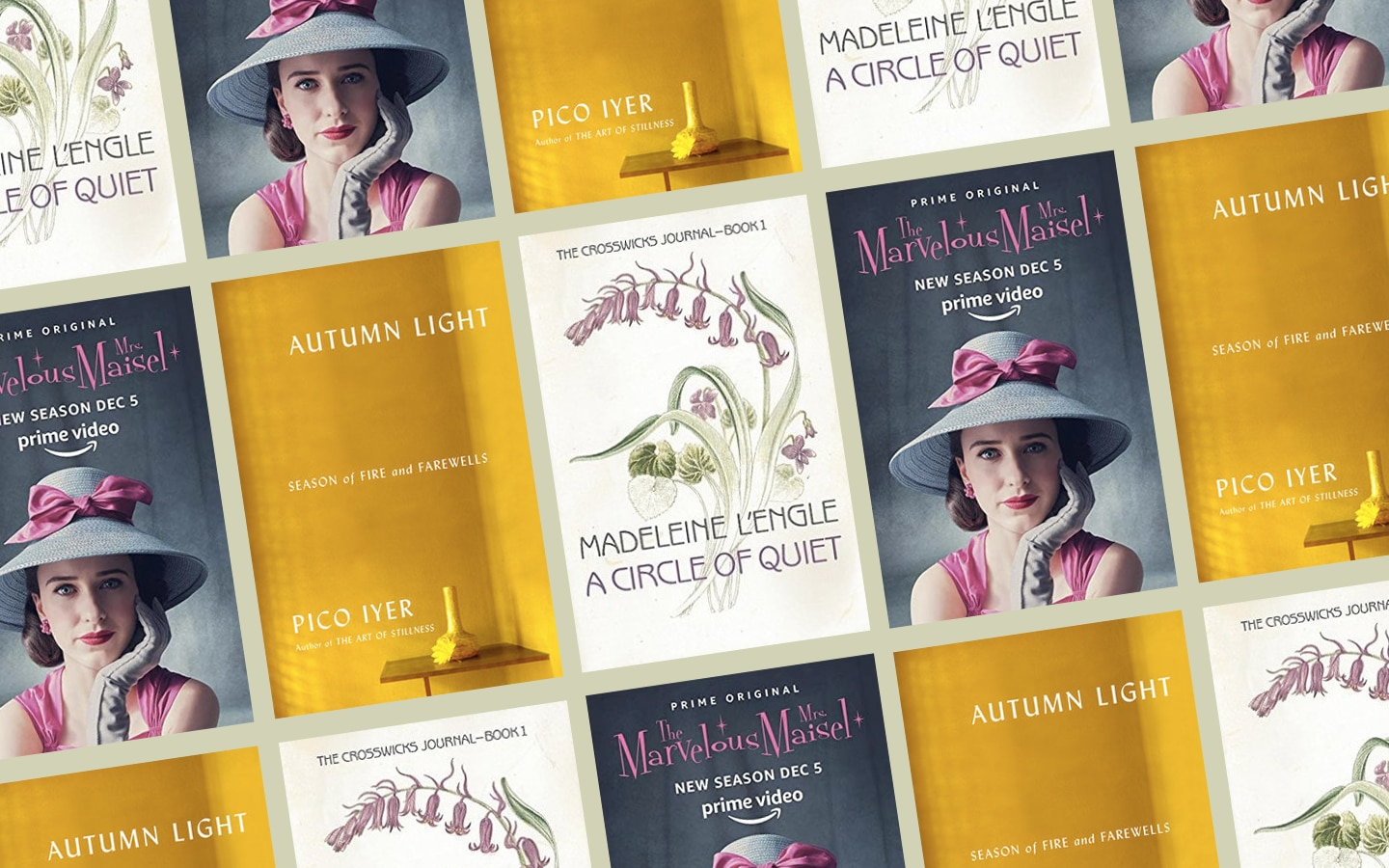 What Keeps Me Calm: A Myriad of Things, From Pico Iyer's 'Autumn Light' to 'The Marvelous Mrs. Maisel'