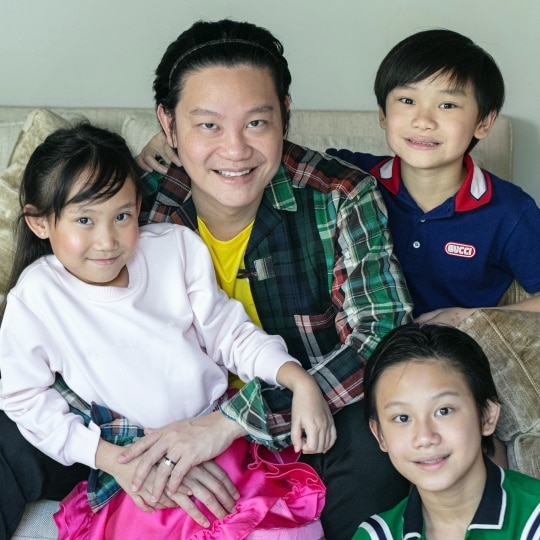 EXCLUSIVE: Dr. Z Teo And His Kids On Metro Society's Digital Cover For Father's Day