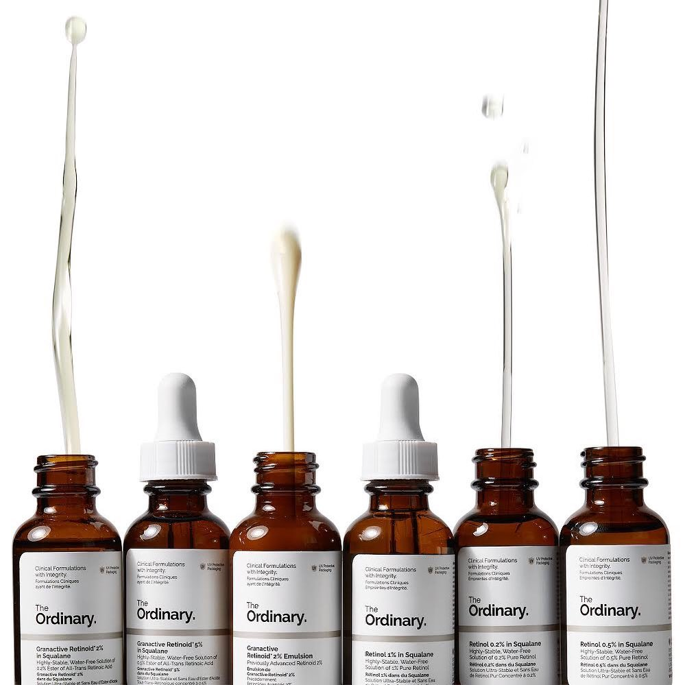 Choose your skincare arsenal from The Ordinary