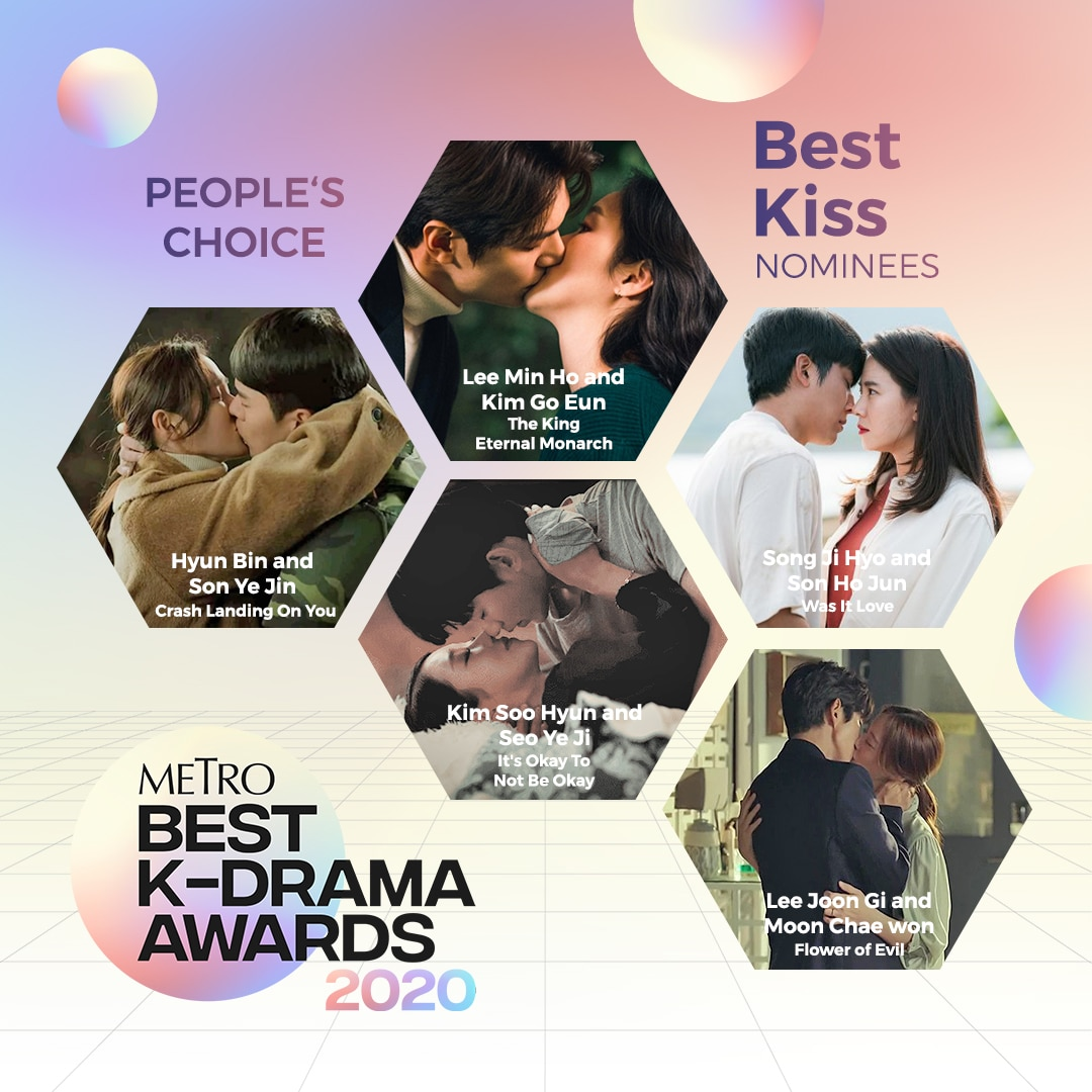 PEOPLE'S CHOICE: BEST KISS NOMINATIONS