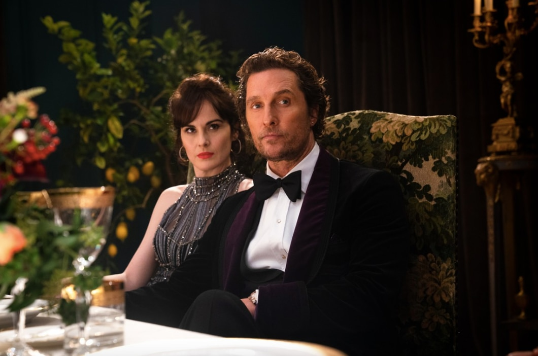 Michelle Dockery and Matthew McConaughey in 'The Gentlemen'