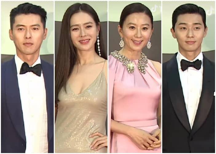 Red carpet arrivals at the Baeksang Awards