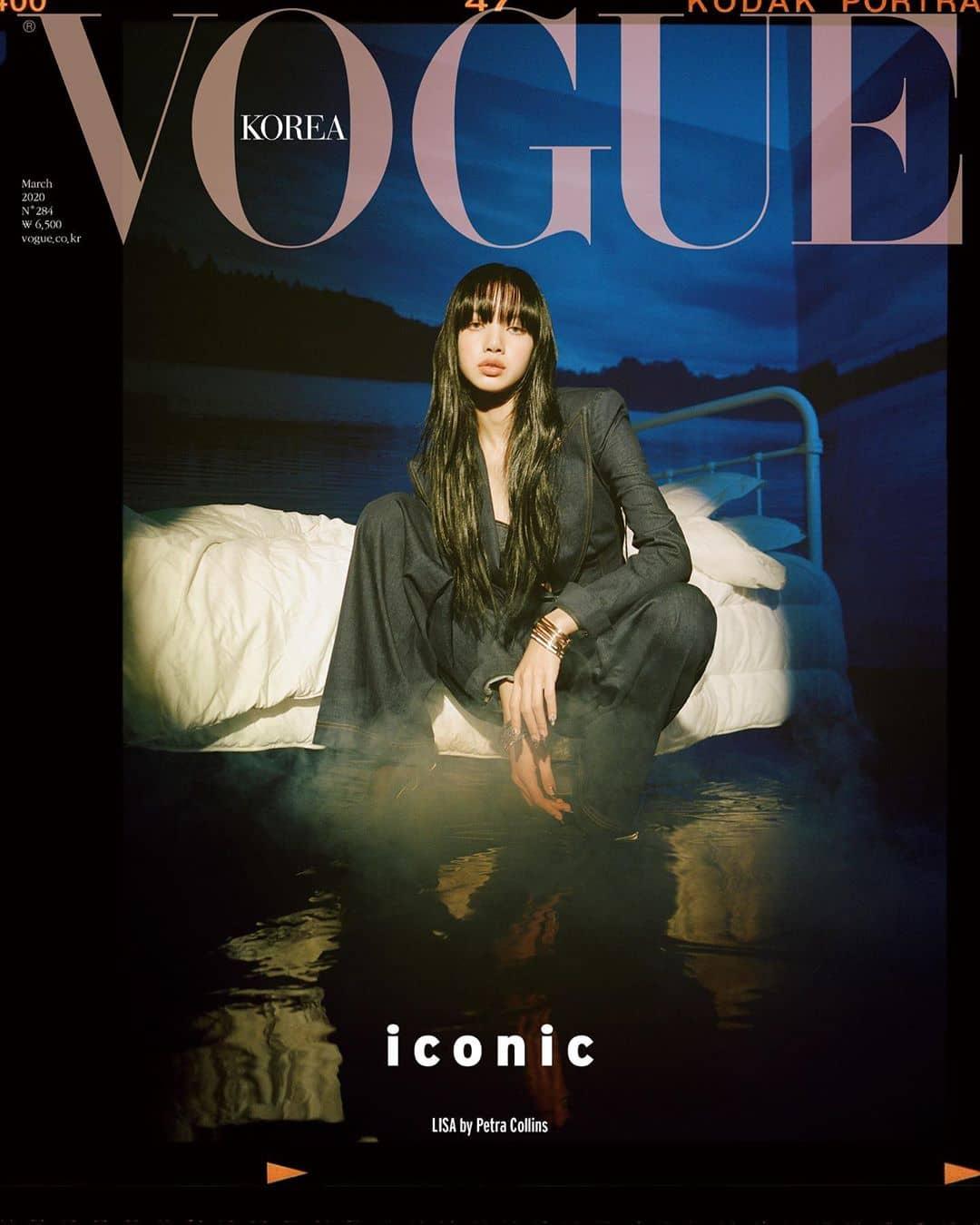 BLACKPINK Lisa on the cover of Vogue Korea