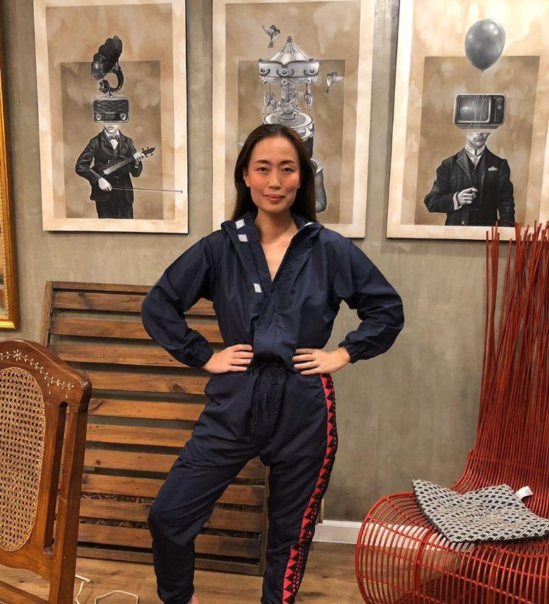 Kaayo PPE-inspired jumpsuit