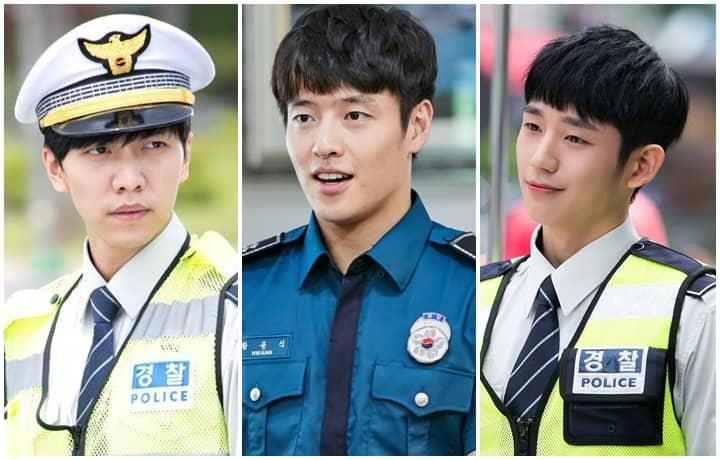 Handsome Policemen & Detectives In K-Dramas