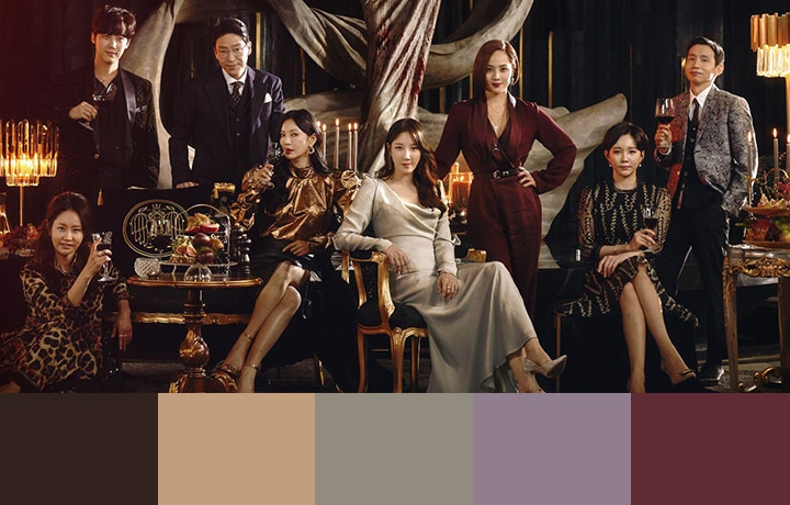 Color Palettes Based On The Penthouse: War In Life