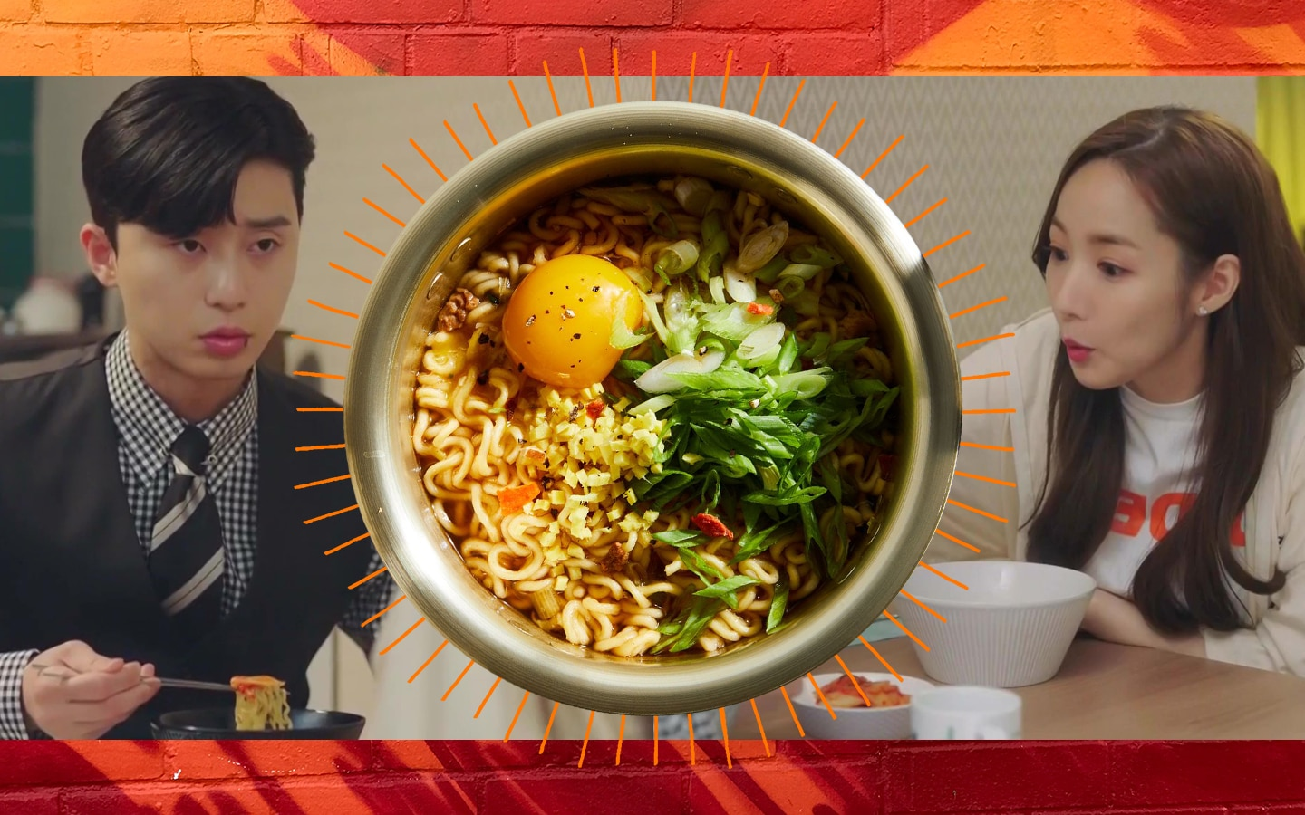 Love and ramyeon