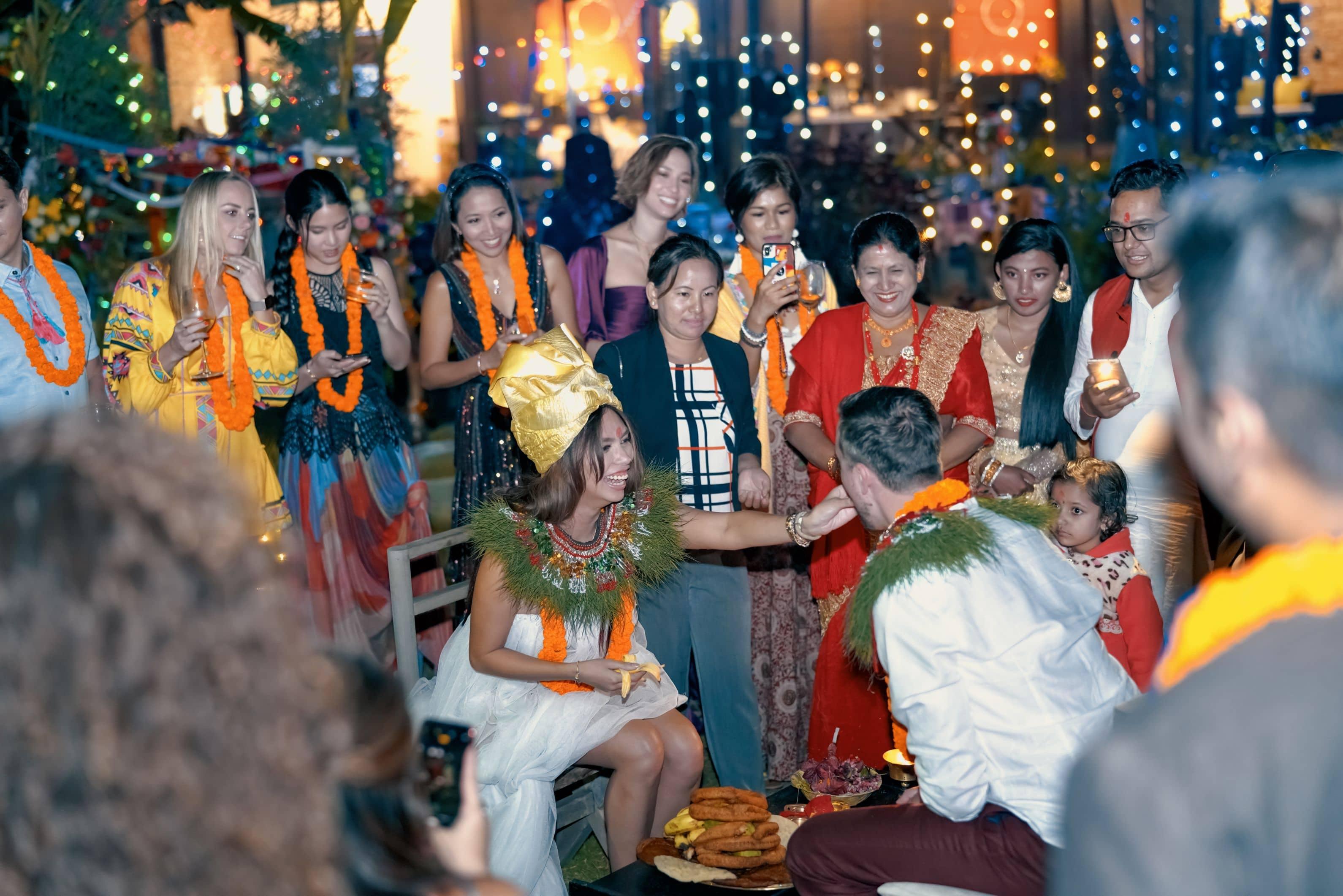lexi rodriguez drew real wedding pokhara nepal 0