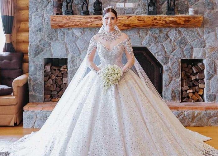 Ara Mina and Dave Almarinez's wedding