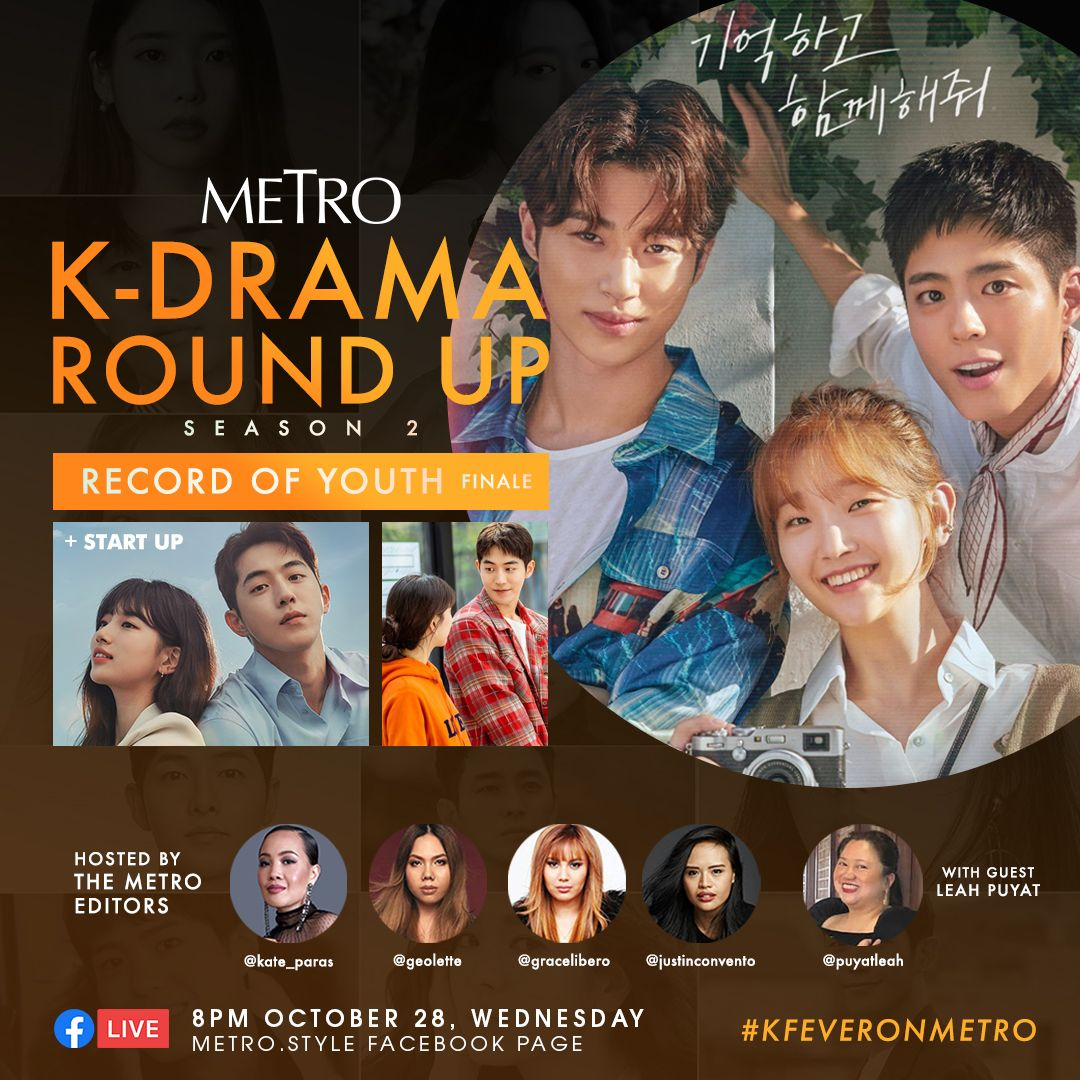 metro k drama round up finale of record of youth 0
