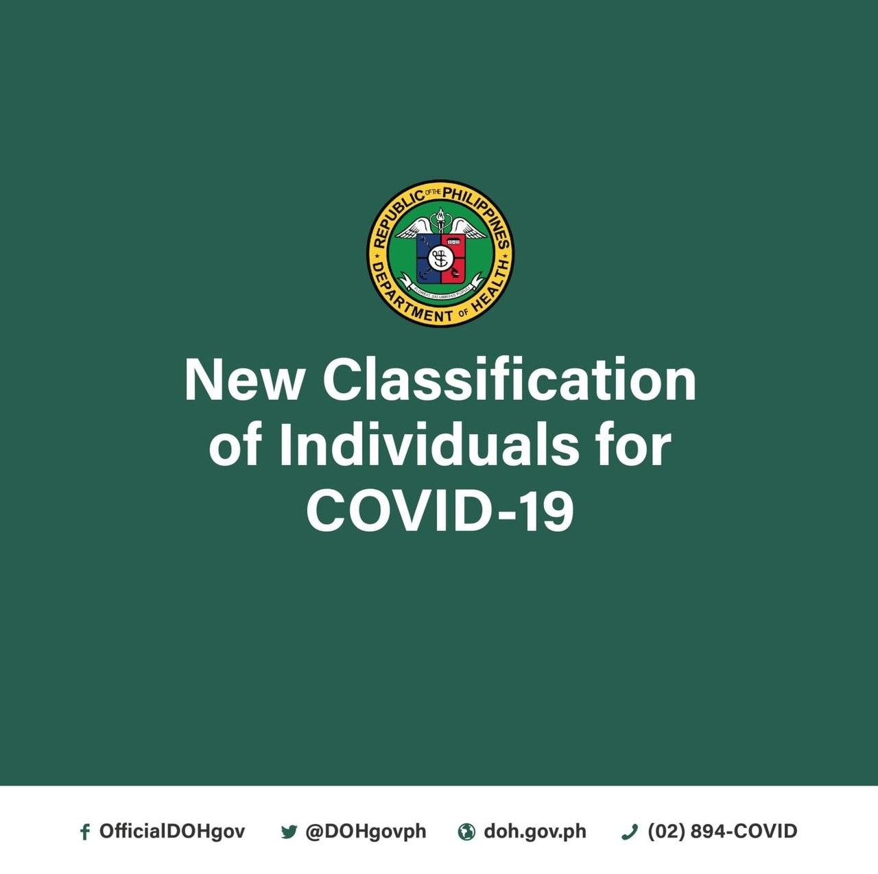 New COVID-19 Classifications
