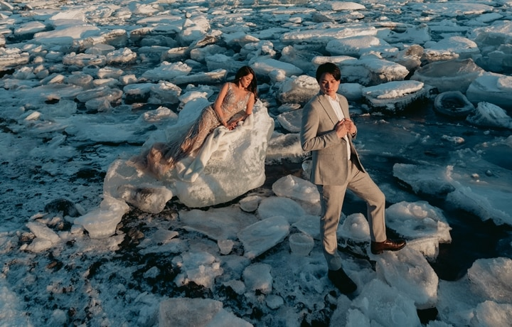 Patricia & Lester's Iceland Pre-Nup Shoot