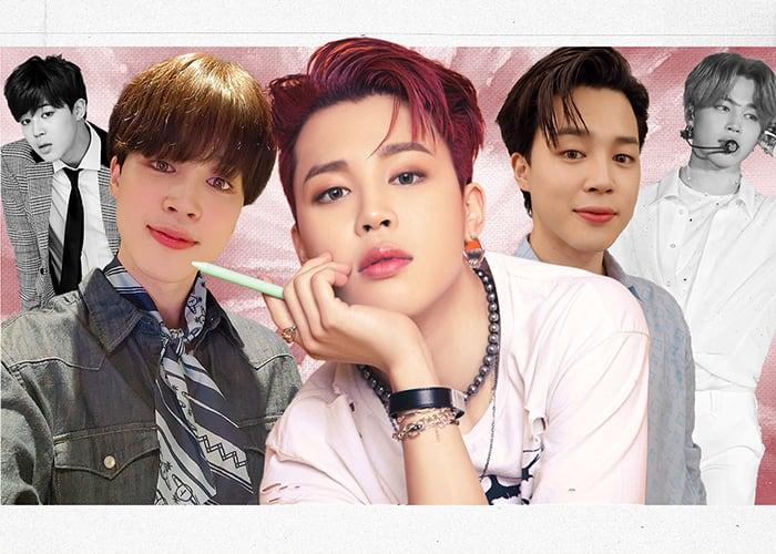 BTS Jimin Evolution