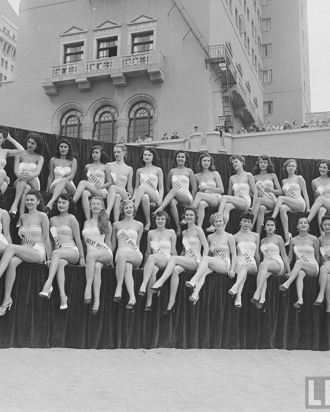 Candidates of the first Miss Universe pageant, 1952