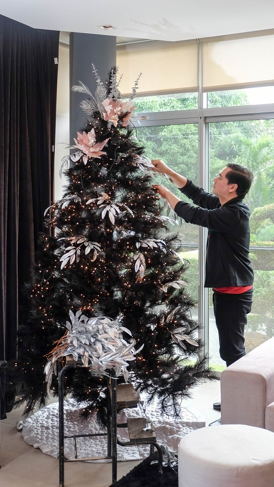 Got A Black Christmas Tree At Home Here S How To Spruce It Up Metro Style